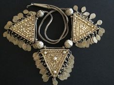 Yemen | Silver necklace. | © Jose M Pery.