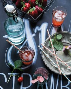 Fresh Strawberry Cordial