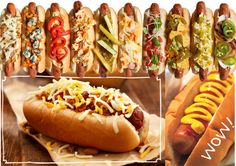 Hot Dog Recipes, Barbecue Recipes, Wine Recipes, Gourmet Hot Dogs, Hot Dog Toppings, Hot Dog Stand, Chili Dogs, Food Goals, Food Truck