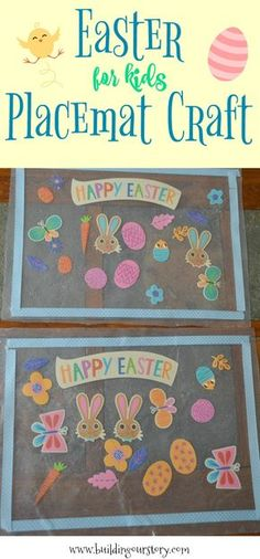 Easter Placemat Craft for Kids