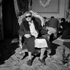 """Totò durante le riprese del film """"Signori si nasce"""" – Stabilimenti De Paolis, Roma, 9 febbraio 1960"""