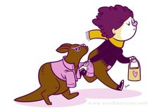 Sometimes I feel like kidnapping Charlie the #wallaby. #illustration #sketch www.facebook.com/sandraortuno