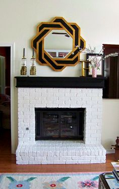 I want to paint my fireplace...but am I brave enough to take the plunge?!