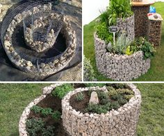 Diy craft ideas using wire mesh and Stones4