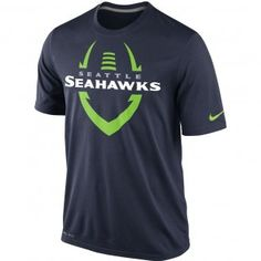 Seattle Seahawks Nike NFL Legend Icon T-Shirt (Navy)