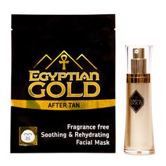 Egyptian Gold Silk Facial Mask is loaded with restorative and healing properties that will repair, hydrate and nourish the skin. Used once or twice a week this product will help to protect against free radical damage and will help to sustain collagen levels in the skin.    Egyptian Gold Serum has been designed to complement the Facial Mask to work in the same way and is for daily use.  The Serum also has anti oxidants to help maintain skins elasticity and promote plumper younger looking…