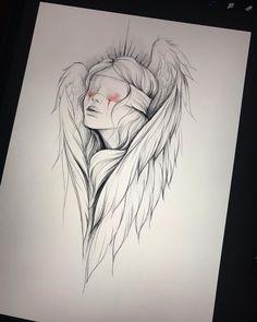 Art Sketchbook Drawing Artists – Art World 20 Dark Art Drawings, Pencil Art Drawings, Art Drawings Sketches, Tattoo Sketches, Tattoo Drawings, Weird Drawings, Tattoo Art, Illustration Tattoo, Medical Illustration