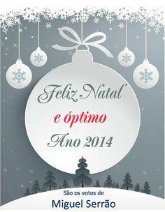 Feliz Natal e Bom Ano de 2014