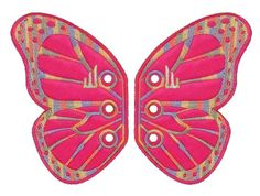 Shwings Vermont butterfly pink 2 kpl/pkt
