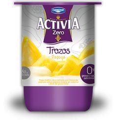 #Yogurt Entero de Frutilla #Activia #Chile