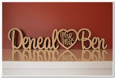 Mr Ben, Wooden Names, Heart, Link, How To Make, Hearts