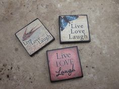 Live Love Laugh SET Skye Jewels EXCLUSIVE 1X1 by Moreskyejewels, $15.00