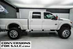 2013 Ford F250 Lariat Diesel Lifted Truck
