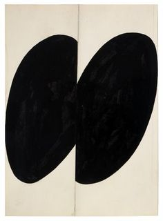Ellsworth Kelly Black Forms, 1955 ink, graphite and collage on paper.