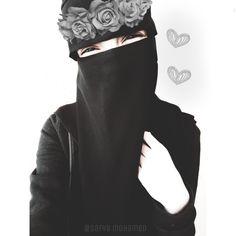 Arab Girls, Muslim Girls, Muslim Women, Niqab Fashion, Muslim Fashion, Muslim Wedding Dresses, Dress Wedding, Hijab Dpz, Cute Muslim Couples
