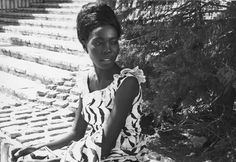 Scene from Black Girl, a 1966 film by the Senegalese writer and director Ousmane Sembène, starring Mbissine Thérèse Diop