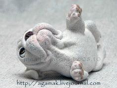"Felting. Copyright toys Irina Polyakova - ""lap-dogs"""