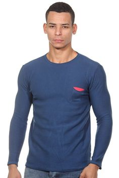 FIOCEO Pullover Rundhals slim fit für 44,90€. Modischer Pullover von FIOCEO, Material für angenehmen Tragekomfort bei OTTO