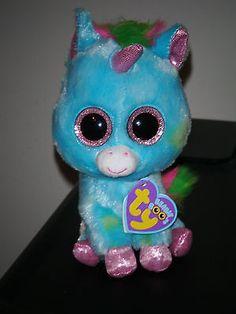 "Ty TREASURE the 6"" Unicorn 2012 Beanie Baby Boos Boo's ~ MINT  ~ VERY RARE"