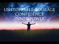 Hypnosis ➤ Unstoppable Courage & Confidence | LET GO of Worries & Overthinking | Inner Power - YouTube