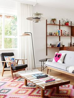 The Elsternwick home of Sonia Post and Glenn Masion. Photo – Eve Wilson. Production – Lucy Feagins / The Design Files.