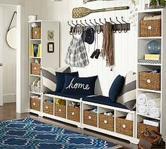 Entryway Systems and Entryway Modular Components | Pottery Barn