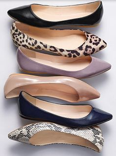 flats in all of the right colors