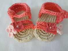 Little Treasures: Baby Crochet Sandals