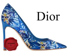 Christian Dior pumps by ARTBURO #artburo #christiandior #dior #ss2016 #pumps #fashion #personalization #артбюро