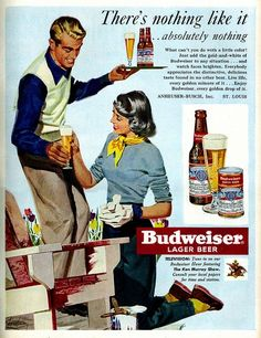 """""""Here's a crappy beer honey, but you better not take too long to enjoy it because that chair won't paint itself and you still have my dinner to cook!"""""""