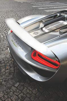 Porsche 918 Spyder, don't even need to see the rest of it to know this is one bad car!!!