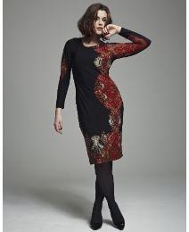 Bespoke Border Print Dress   So taking a pole...do you like this dress?