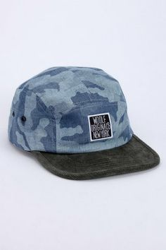 5 Panel Hat - Woolf - Hats : JackThreads