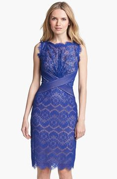Blue Lace Cocktail Dress | Dress for the Wedding