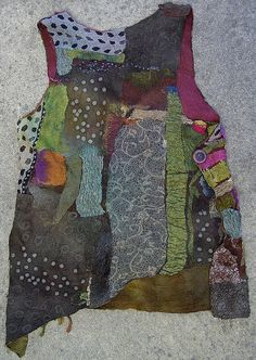 felt vest back | Flickr - Photo Sharing!