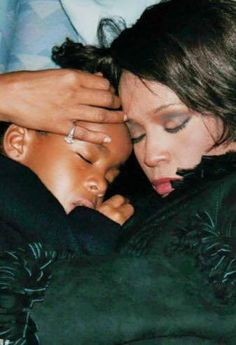 Together forever. Rest in peace, Whitney and Krissy.