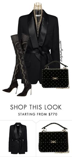 """Classy Sassy"" by styledbyjanetta on Polyvore featuring IRO and Valentino"