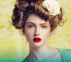 gibson girl hairstyle. I will do this for a party, now that I know how! So beautiful!