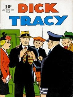Dick Tracy= note it was only a dime! Old Comics, Vintage Comics, Vintage Ads, Comic Book Covers, Comic Books, Planet Comics, Classic Comics, Book Publishing, Comic Strips