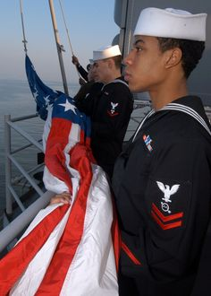 U. S. Navy Color Guard