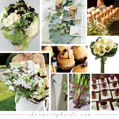 1000 Images About Green Champagne Wedding Theme On Pinterest