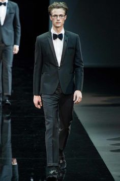Emporio Armani Fall 2014 Menswear Collection - Vogue