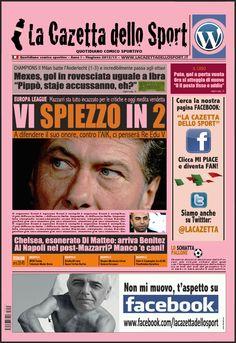La COPERTINA del 22.11.2012