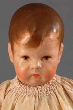"17"" Kathe Kruse Doll I wide-hip child"