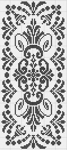 This Pin was discovered by mil Just Cross Stitch, Cross Stitch Borders, Cross Stitch Flowers, Cross Stitch Designs, Cross Stitching, Cross Stitch Embroidery, Cross Stitch Patterns, Filet Crochet Charts, Crochet Cross