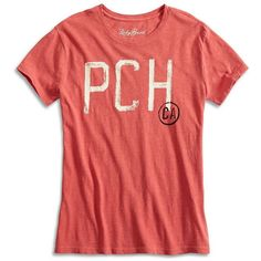 Lucky Brand Pch Tee ($40) ❤ liked on Polyvore