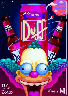Krusty the Clown – Cosmo Duff, The Simpsons Simpson Wallpaper Iphone, Trippy Wallpaper, Cartoon Wallpaper, Cool Wallpaper, Iphone Wallpaper, Simpsons Drawings, Simpsons Art, Dope Wallpapers, Wallpaper Quotes