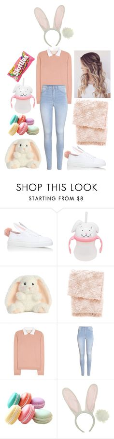 """""""ddlg -bunny-"""" by princess-llyssa ❤ liked on Polyvore featuring Minna Parikka, Pine Cone Hill, RED Valentino and H&M"""