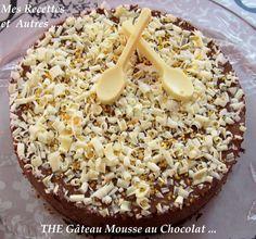 mes recettes et autres - The gateau mousse au chocolat