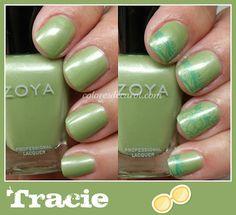 Zoya Nail Polish in Tracie -- nice green!